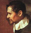 Carracci Annibale Self Portrait in Profile