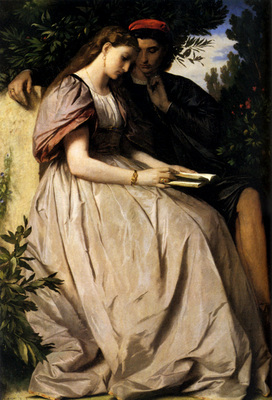 Feuerbach Anselm Paolo And Francesca