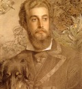 Sandys Anthony Frederick Augustus Portrait Of Cyril Flower Lord Battersea