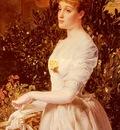 Sandys Anthony Frederick Augustus Portrait Of Julia Smith Caldwell