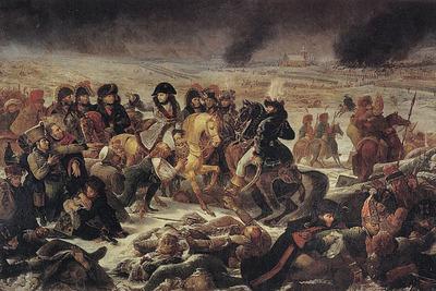 Gros Jean Antoine Napoleon on the battlefield of Eylau