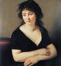 Gros Jean Antoine Portrait of Madame Bruyere