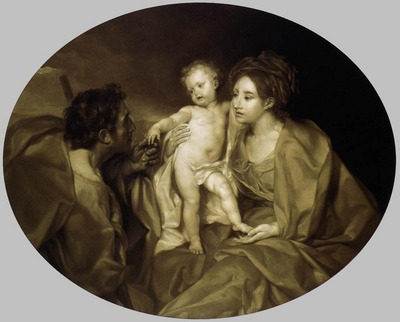 MENGS Anton Raphael The Holy Family