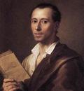 MENGS Anton Raphael Portrait Of Johann Joachim Winckelman