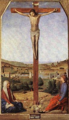 ANTONELLO da Messina Crucifixion