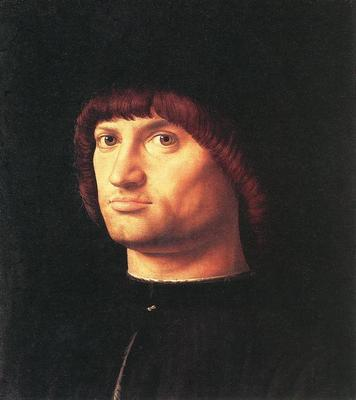 ANTONELLO da Messina Portrait Of A Man