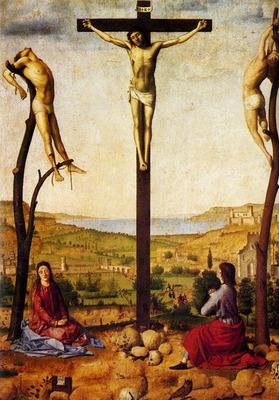 Messina Antonello Da Crucifixion