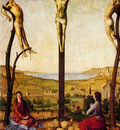 Messina Antonello Da Crucifixion