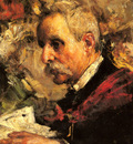 Mancini Antonio A Portrait Of The Artists Father