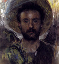 Mancini Antonio Self portrait