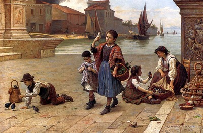 Paoletti Antonio The Bird Seller