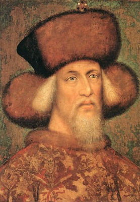 PISANELLO Portrait Of Emperor Sigismund Of Luxembourg
