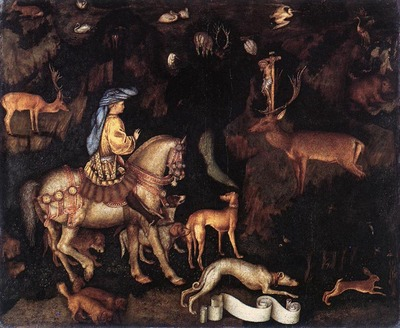 PISANELLO Vision Of St Eustace