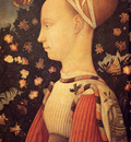 Pisanello Antonio Portrait Of Ginerva D Este