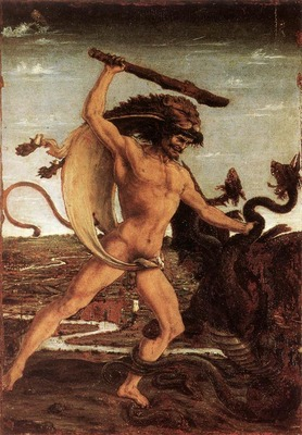 POLLAIUOLO Antonio del Hercules And The Hydra