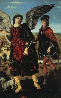 POLLAIUOLO Antonio del Tobias And The Angel