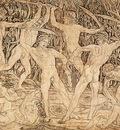 POLLAIUOLO Antonio del Battle Of Ten Nudes
