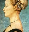 POLLAIUOLO Antonio del Portrait Of A Girl