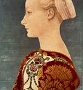 pollaiuolo antonio del portrait of a young woman