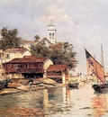 Reyna Antonio A View Of Venice