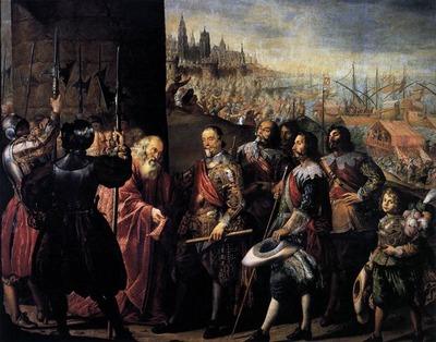 PEREDA Antonio de The Relief Of Genoa