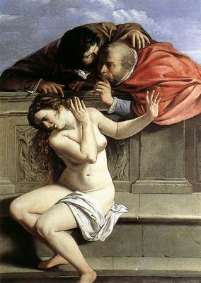 GENTILESCHI Artemisia Susanna And The Elders