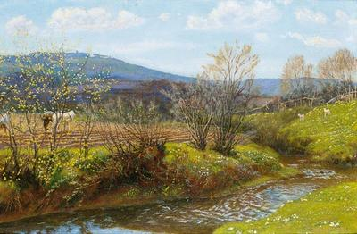 Hughes Arthur A Spring Afternoon