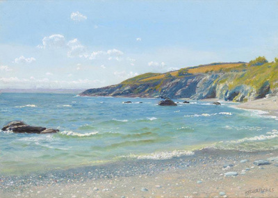 Hughes Arthur Perran Point Cornwall