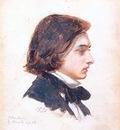 Hughes Arthur Self Portrait