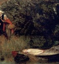 Hughes Arthur The Lady of Shalott