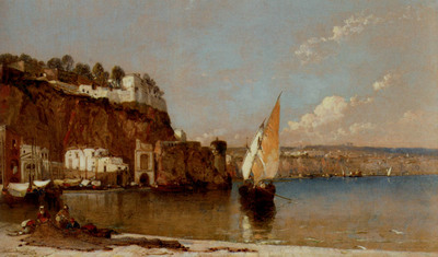 Meadows Arthur Joseph Sorrento Bay Of Naples