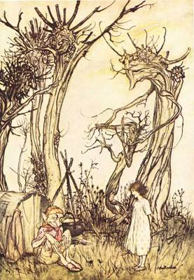 Rackham Arthur Mother Goose Man in the Wilderness