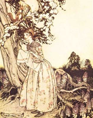 Rackham Arthur Mother Goose The Fair Maid who the first of Spring