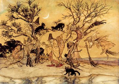 Rackham Arthur The Witches Sabbath