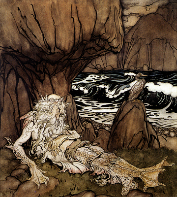 Rackman Arthur A Crowned Merman