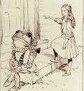 Rackham Arthur Alice And The Frog Footman