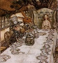 Rackham Arthur Alice in Wonderland A Mad Tea Party