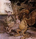 Rackham Arthur Alice in Wonderland The Mock Turtle s Story