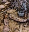 Rackham Arthur Alice in Wonderland The Rabbit Sends in a Little Bill