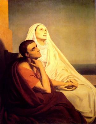 Saint Monique and Saint Augustin