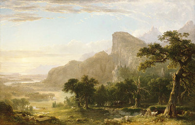 Durand Asher B Landscape Scene From Thanatopsis