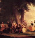 Durand Asher Brown The Dance Of The Battery In The Presence Of Peter Stuyvesant