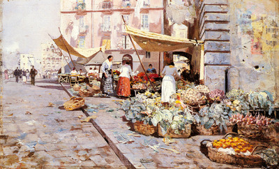 Pratella Attilio The Marketplace