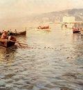 Pratella Attilio Fishing Vessels Off A Coast