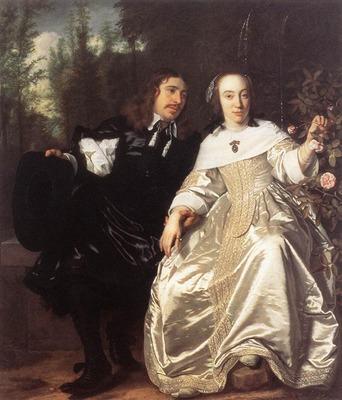 HELST Bartholomeus van der Abraham Del Court And Maria De Keersegieter