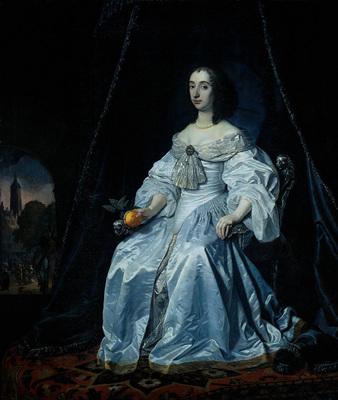Helst Bartholomeus van der Princess Henrietta Mary Stuart