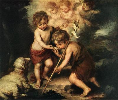 Murillo Children with Shell