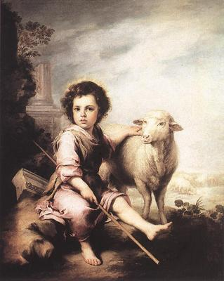 Murillo Christ the Good Shepherd