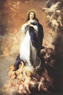 Murillo Immaculate Conception c1678