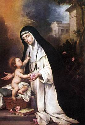 Murillo St Rose of Lima